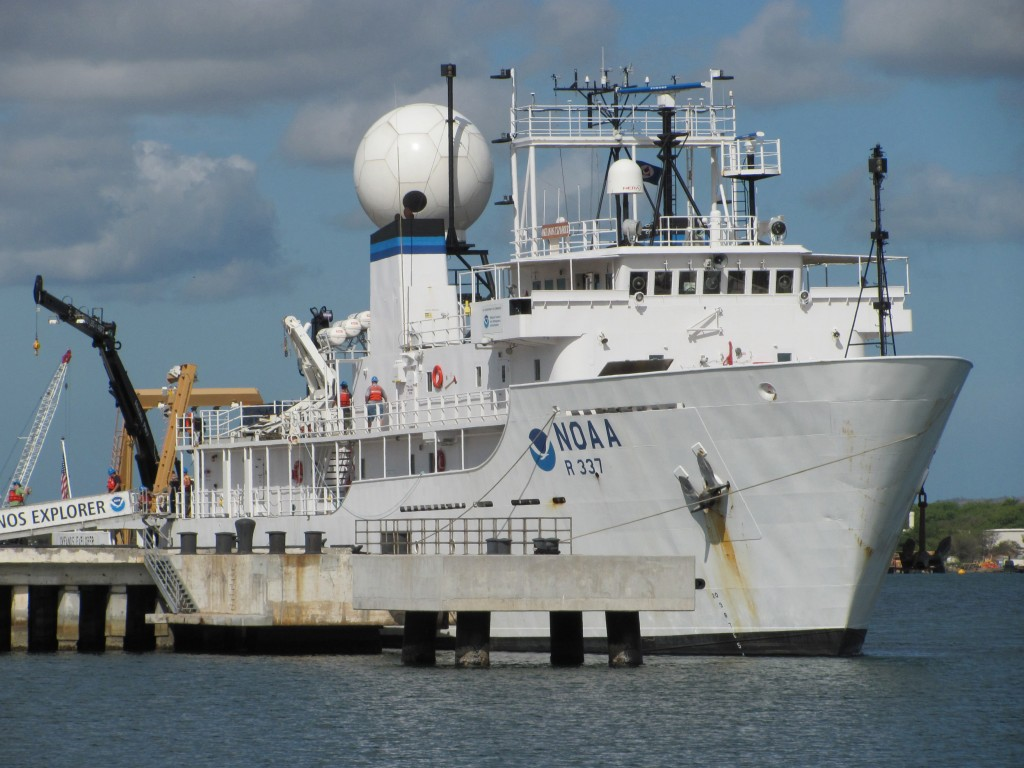 UTIG Research Scientist Aboard NOAA Expedition
