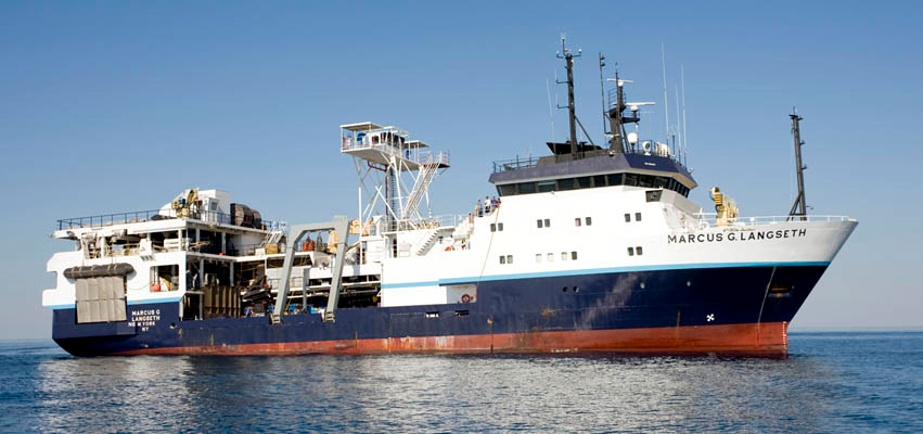 The R/V Marcus Langseth.