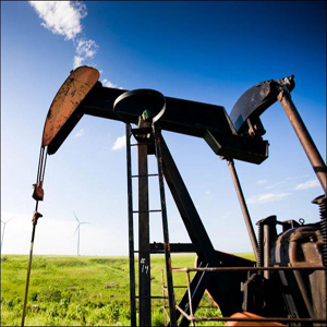 Photo of an oil well