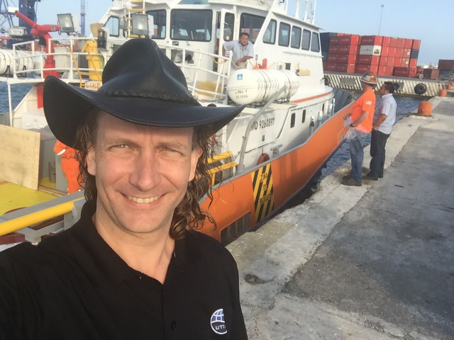 Co-Chief Scientist Sean Gulick Arrives at Chicxulub Impact Crater