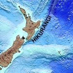 Map of the Hikurangi margin off North Island, New Zealand