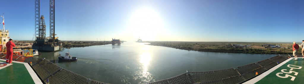 Brownsville shipping canal