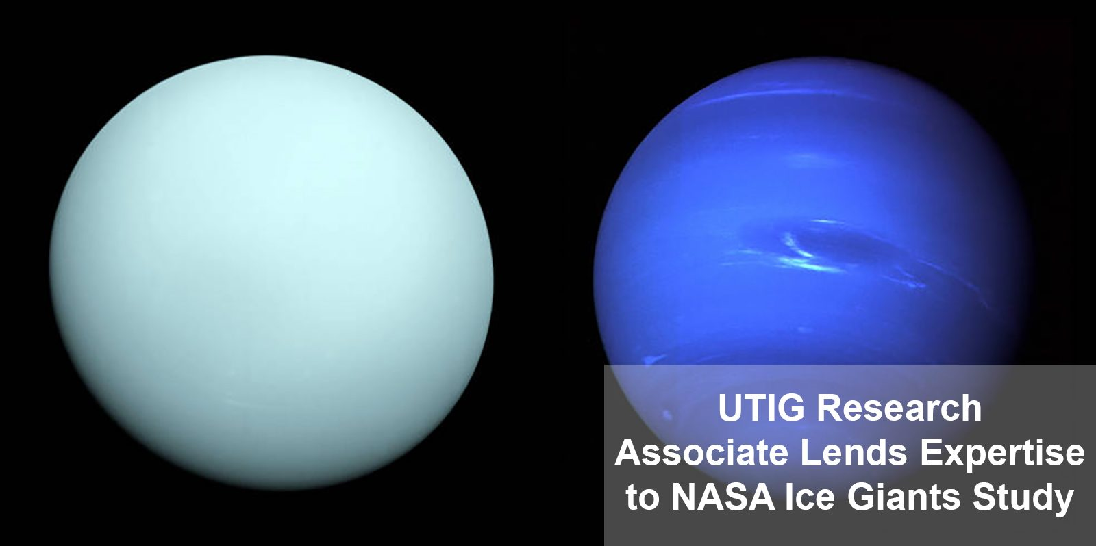 UTIG Research Associate Lends Expertise to NASA Ice Giants Study