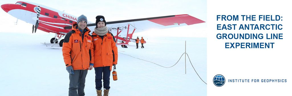 From the Field: East Antarctic Grounding Line Experiment