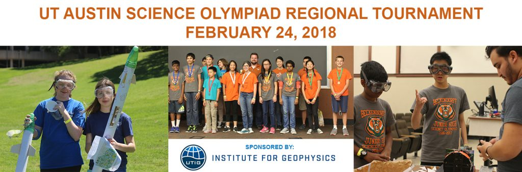 Science Olympiad at UTIG