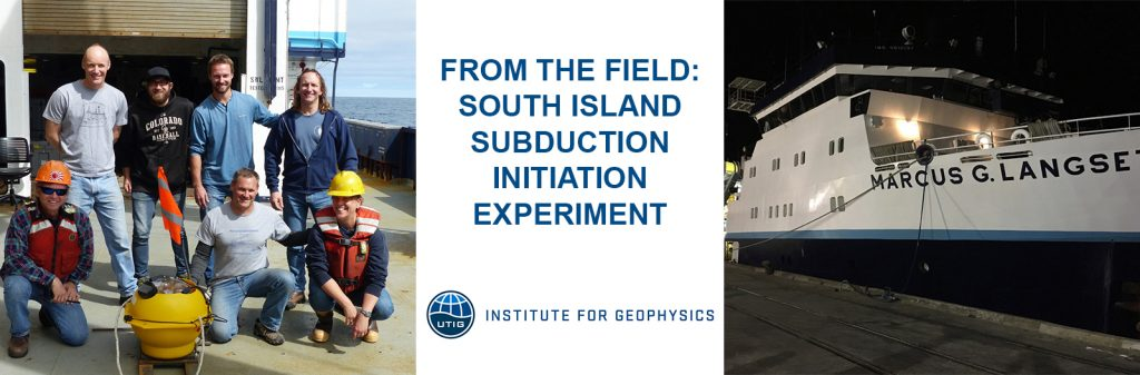 South Island Subduction Initiation Experiment