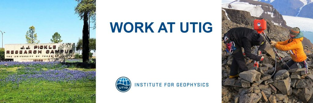 UTIG Job Posting: Computational Geoscientist