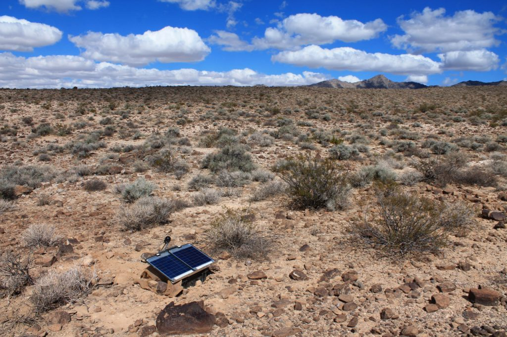 From the field: Revealing the deep structure of the Mojave Desert